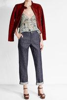 Vanessa Seward Straight-Leg Jeans