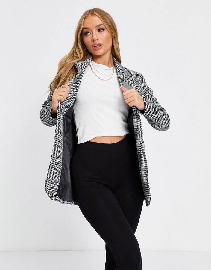 Parisian blazer in monochrome