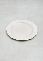 SIN white porcelain large paper plate