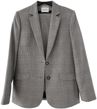 Pallas Grey Wool Jacket for Women