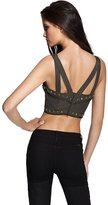 GUESS by Marciano Posy Cropped Corset Top