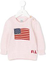 Ralph Lauren logo knit sweater