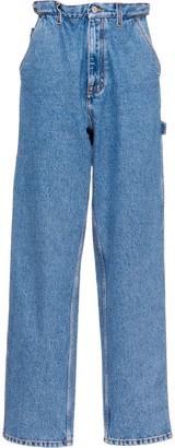 Miu Miu High-Waisted Boyfriend Jeans