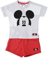 adidas Mickey Jersey T-Shirt & Sweat Shorts
