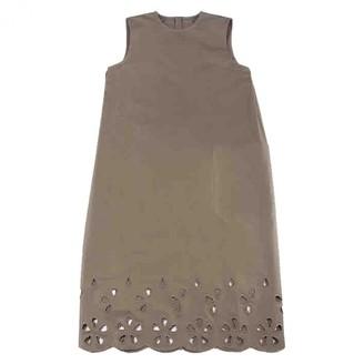 Sofie D'hoore Khaki Cotton Dresses