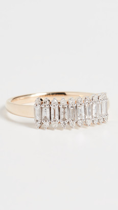 Adina Stack Baguette Ring