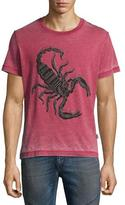 Just Cavalli Scorpion T-Shirt, Burgundy (Red)