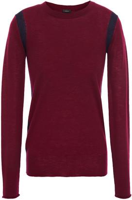 Joseph Two-tone Cashmere Sweater