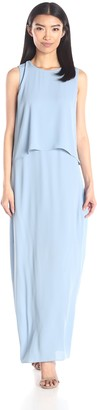 BCBGMAXAZRIA Azria Women's Briyana Long Sleeveless Dress