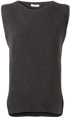 Peserico Ribbed Knit Vest