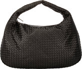 Bottega Veneta Women's Intrecciato Maxi Hobo-Black