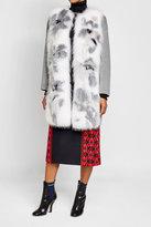 Fendi Cashmere Coat with Fox Fur
