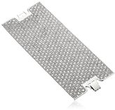 Lisa Freede Jewelry Rhodium-Plated Crystal Lace Cuff Bracelet