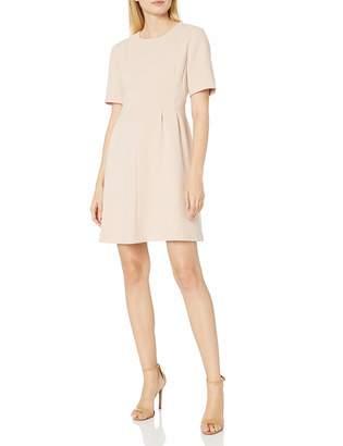 Helene Berman Women's Pleat Waist Dress