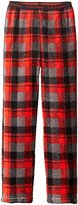Calvin Klein Little Boys' Plaid Plush Sleep Pant