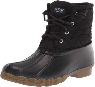 Sperry Saltwater Nylon Quilt Rain Boot