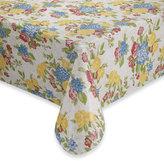 Floral PEVA Vinyl Tablecloth