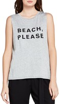 BCBGeneration Beach Please Muscle Tank