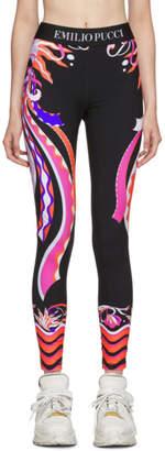 Emilio Pucci Multicolor Burle Print Leggings