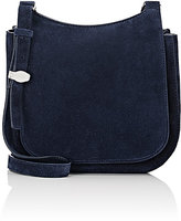The Row Women's Hunting 9 Shoulder Bag-NAVY