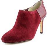 MICHAEL Michael Kors Sammy Ankle Boot Women US 5.5 Burgundy Bootie
