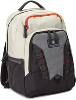 Jeep Cream & Dark Gray Backpack Diaper Bag