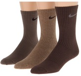 Nike Cotton Lightweight Crew with Moisture Management 3-Pair Pack