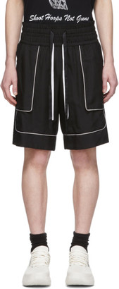Nahmias SSENSE Exclusive Black Basketball Shorts