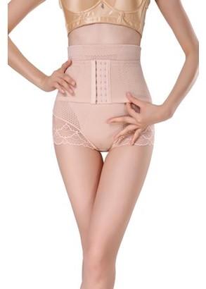 Shape Mi Women's High Waist Tummy Control Panty with Adjustable Corset