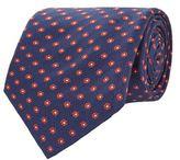 Corneliani Floral Silk Tie