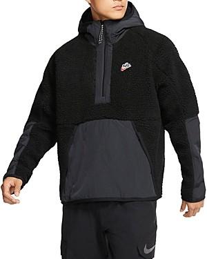 Nike Color-Block Half-Zip Hoodie
