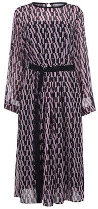 Marella Riserva short sleeve fit and flare dress