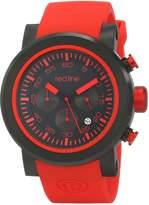 Redline Red Line Men's RL-50050-BB-01-RDAS Torque Sport Analog Display Japanese Quartz Red Watch