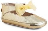 Stuart Weitzman Girls' Nantucket Metallic Flats