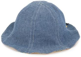 Familiar reversible bucket hat