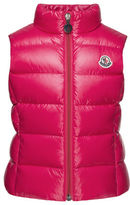 Moncler Ghany Quilted Down Vest, Size 8-14