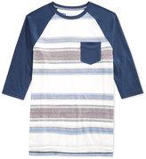 Levi's Men's Striped Raglan Sleeve T-Shirt