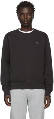 Saturdays NYC Black Bowery Slash Sweatshirt