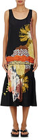 Dries Van Noten Women's Decai Drop-Waist Silk Midi-Dress