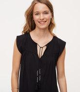 LOFT Tall Tassel Dress