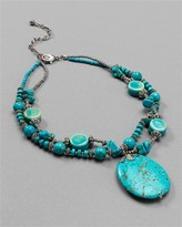 Turquoise Pebbles Necklace