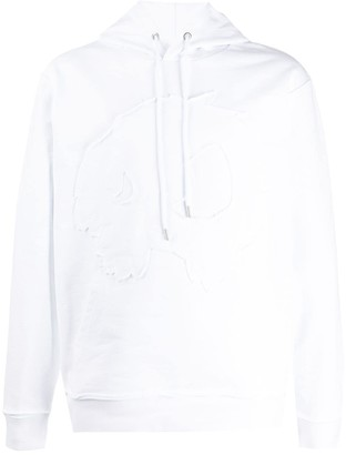 McQ Embroidered Monster Hoodie