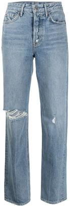 GRLFRND Mica straight jeans