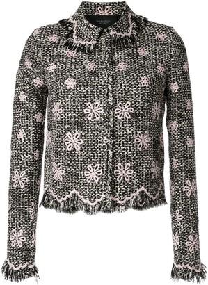 Giambattista Valli Embroidered Flower Jacket