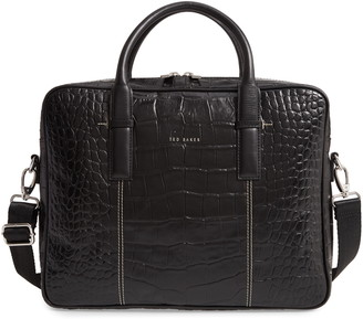 Ted Baker Nugget Leather Document Bag