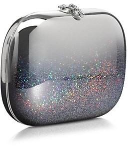 JEFFREY LEVINSON Elina Plus Mirrored Ombre Glitter Clutch