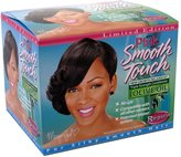 Luster's Lusters Pink Smooth Touch New Growth Relaxer Kit, Regular Formula - 4 OZ