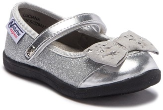 Naturino Express Glitter Bow Ballet Flat (Toddler & Little Kid)