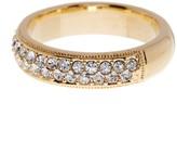 Nadri CZ Embellished Band Ring - Size 6