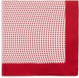 BOSS Abstract Grid Neat Pocket Square